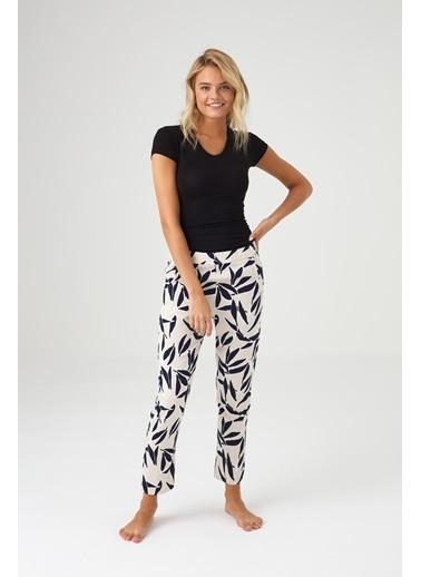 Mod Collection Kadın Puanlı Pijama Altı Lacivert